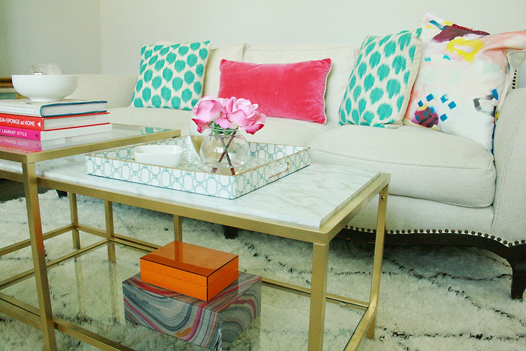 diy marble gold coffee table darling darleen a