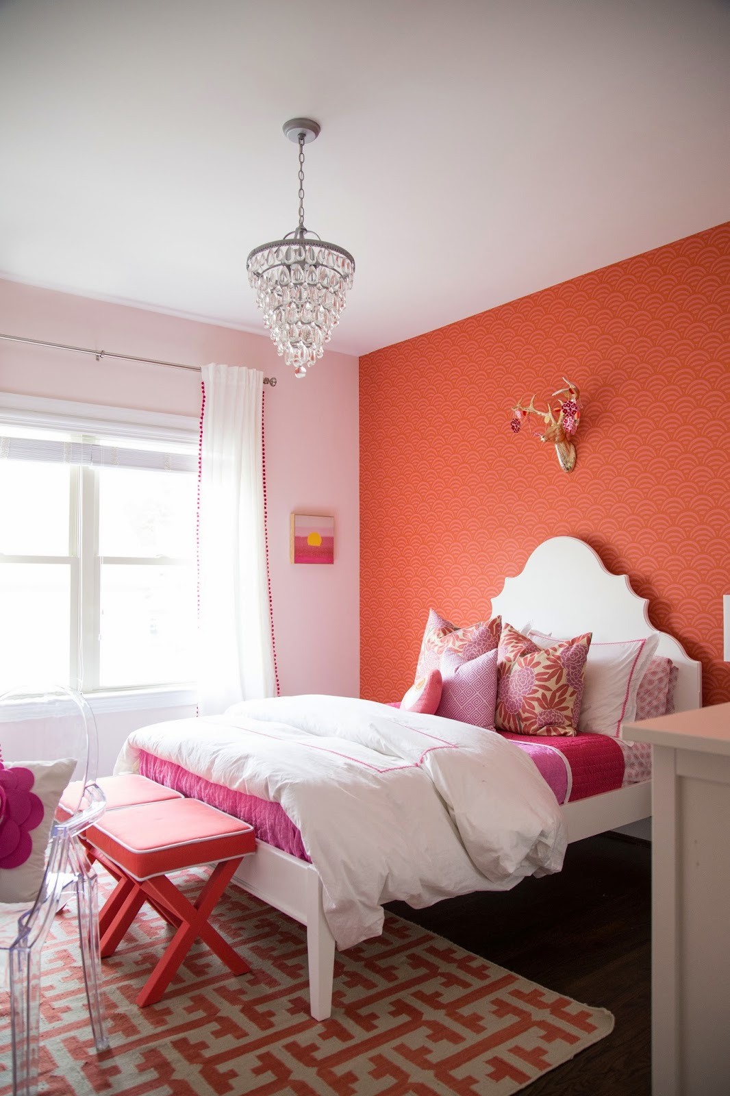 Tween Girl Bedroom : Pink + Coral - Darling Darleen | A Lifestyle ...