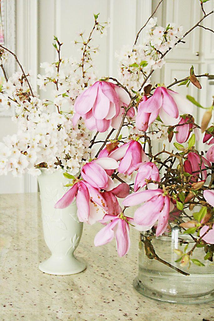 spring blossoms branch arrangements