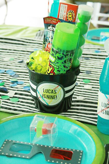 laser tag, birthday party, boy birthday party, video game birthday, lulu cole printables