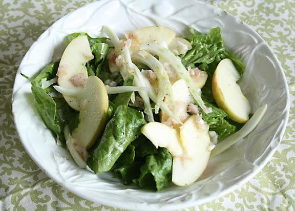 Apple Fennel Salad || Darling Darleen