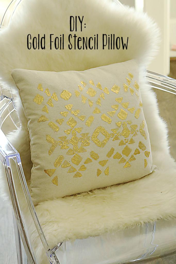 diy-gold-foil-stencil-pillow-tutorial2