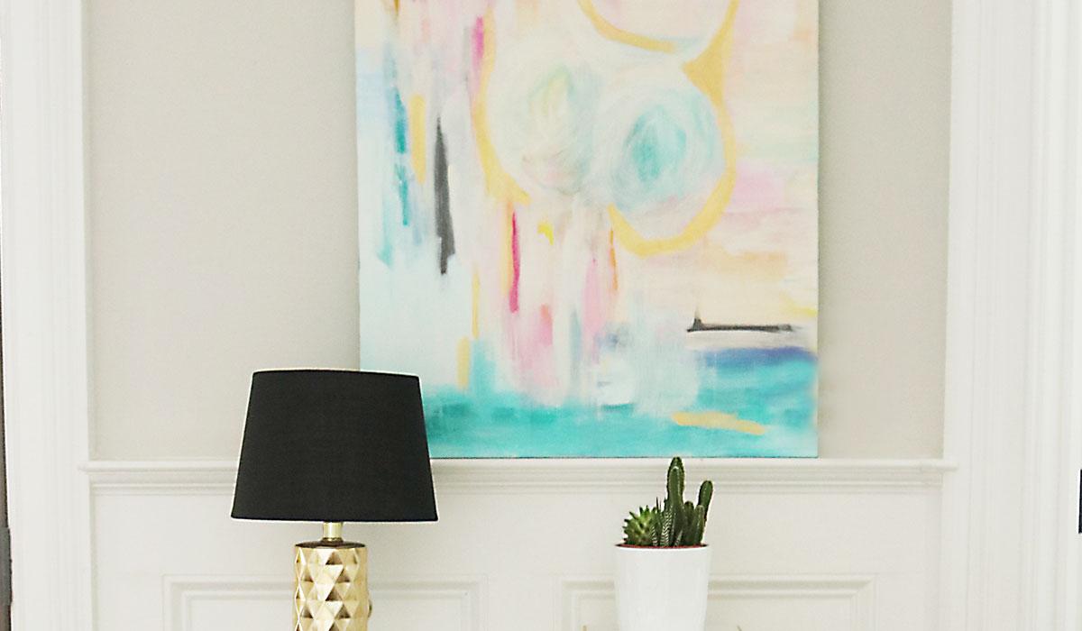 DIY Abstract Art Painting: Anyone Can be an Artist - Darling ...