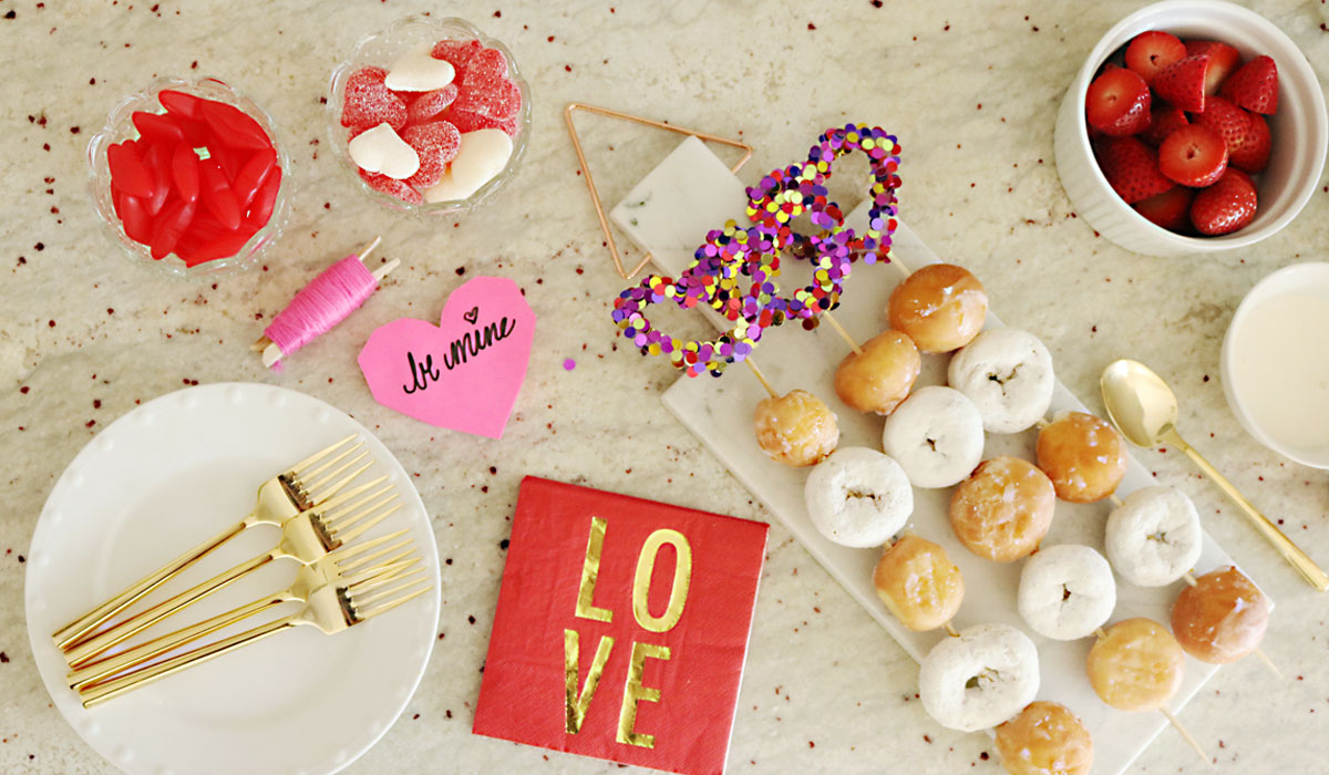 Easy Valentineu0027s Breakfast For Kids · Valentineu0027s Party Ideas: Cheesecake  And Doughnuts