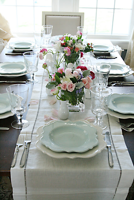 Easter table decorations, easter table centerpieces, easter d