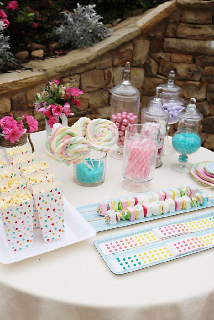 boho-teen-birthday-party-candy-table