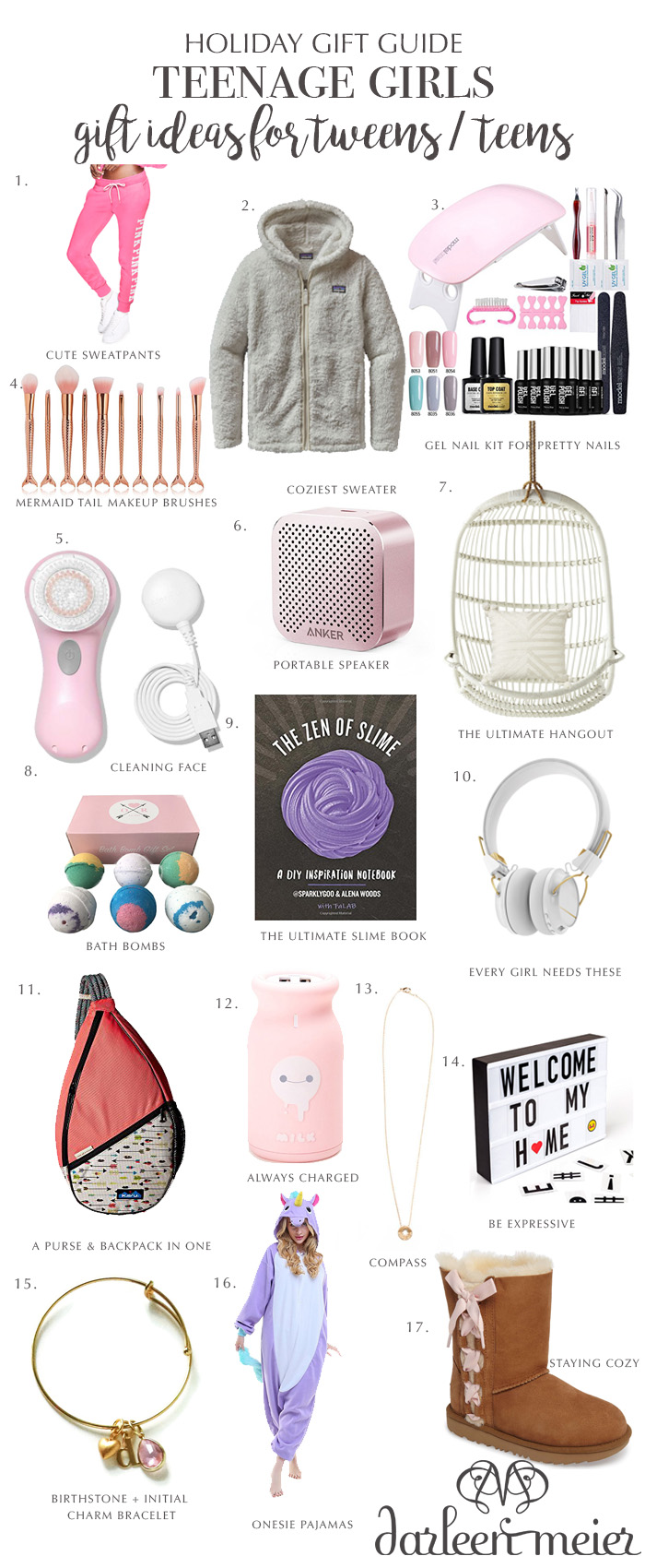 Holiday gift guide for teenage girls, gift ideas for Tweens, gift ideas holiday presents for teen girlie, holiday present ideas, gift guide for girls, gift guide for young teens, gift for teen girls, girls, young women