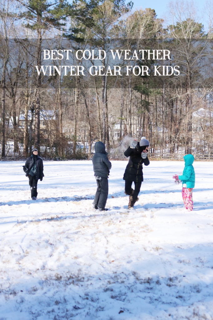 Best Cold Weather Winter Gear for Kids || Darling Darleen