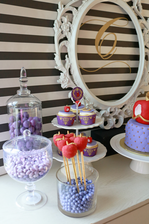 Descendants Birthday Party + Free Printable || Darling Darleen