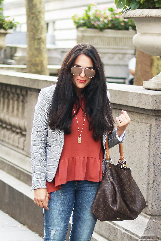 Blazers for Fall and How to Style    Darling Darleen #blazers #menswearblazers #darlingdarleen