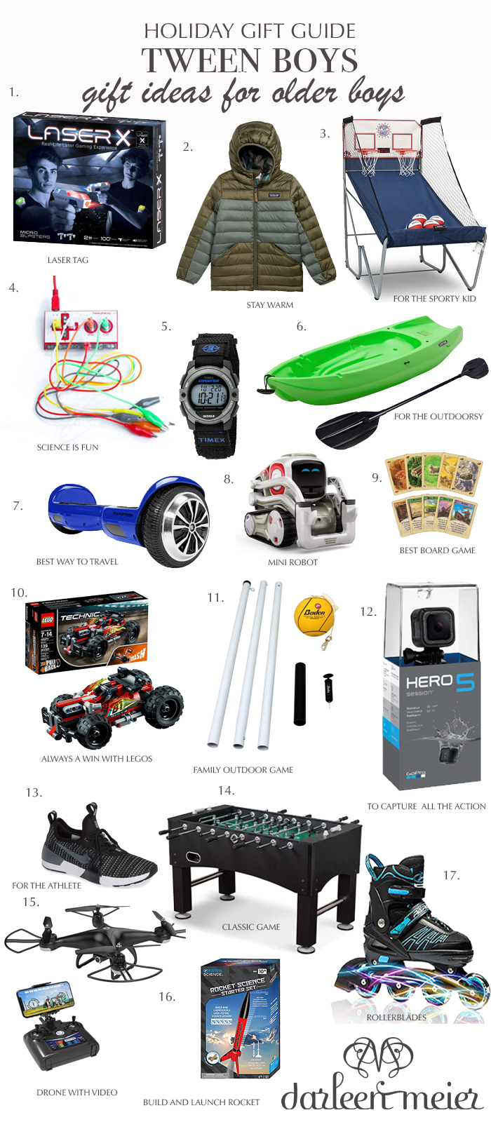 Look no further! The ultimate holiday gift guide for tween boys and teen boys this holiday season