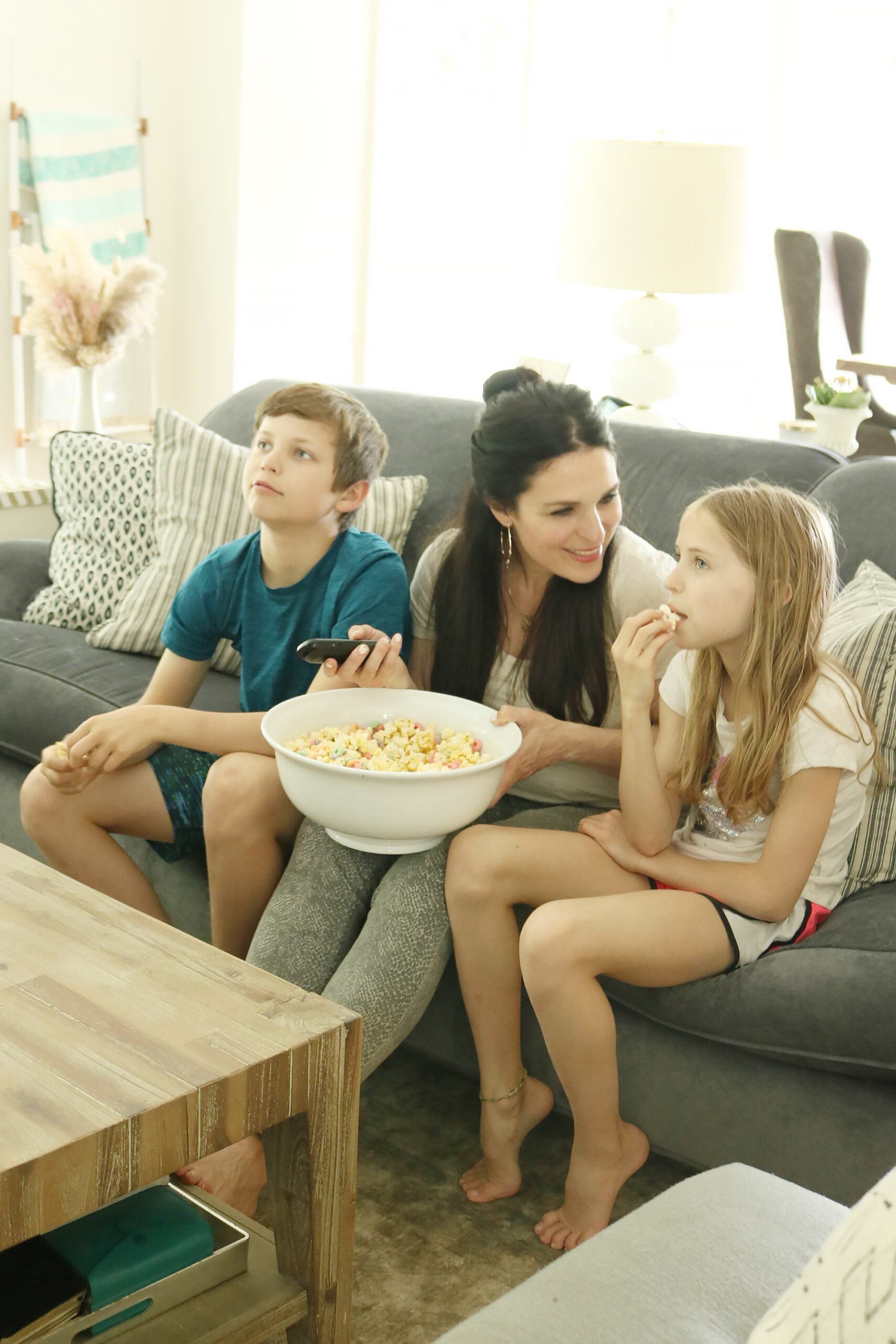 Five Ideas to Break-Up Quarantine Days like movie night with popcorn mixed with Malt-O-Meal cereals! || Darling Darleen Top Lifestyle CT Blogger #maltomeal #quarantineideas