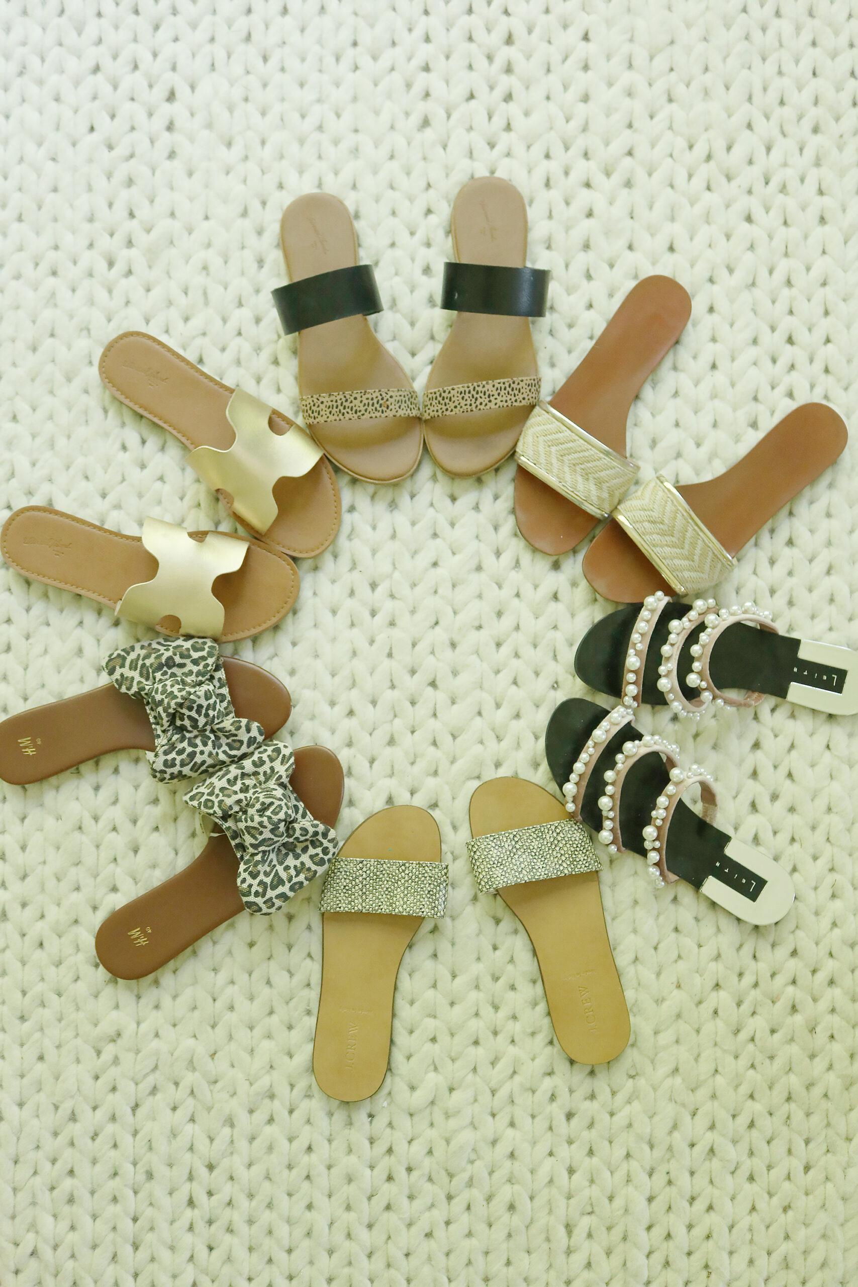 Best Summer Sandals under $100 that are on trend this season || Darling Darleen Top Lifestyle CT Blogger #summersandals #sandalsunder100