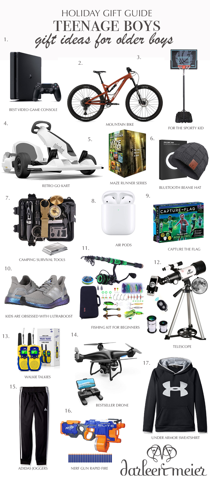 Gift guide for teenage boys, holiday gift shopping for teen boys, teen boys gift ideas, Christmas gifts for teenager boys, best seller gifts for teenager boys  || Darling Darleen Top Lifestyle CT Blogger #holidaygiftguide #giftguide