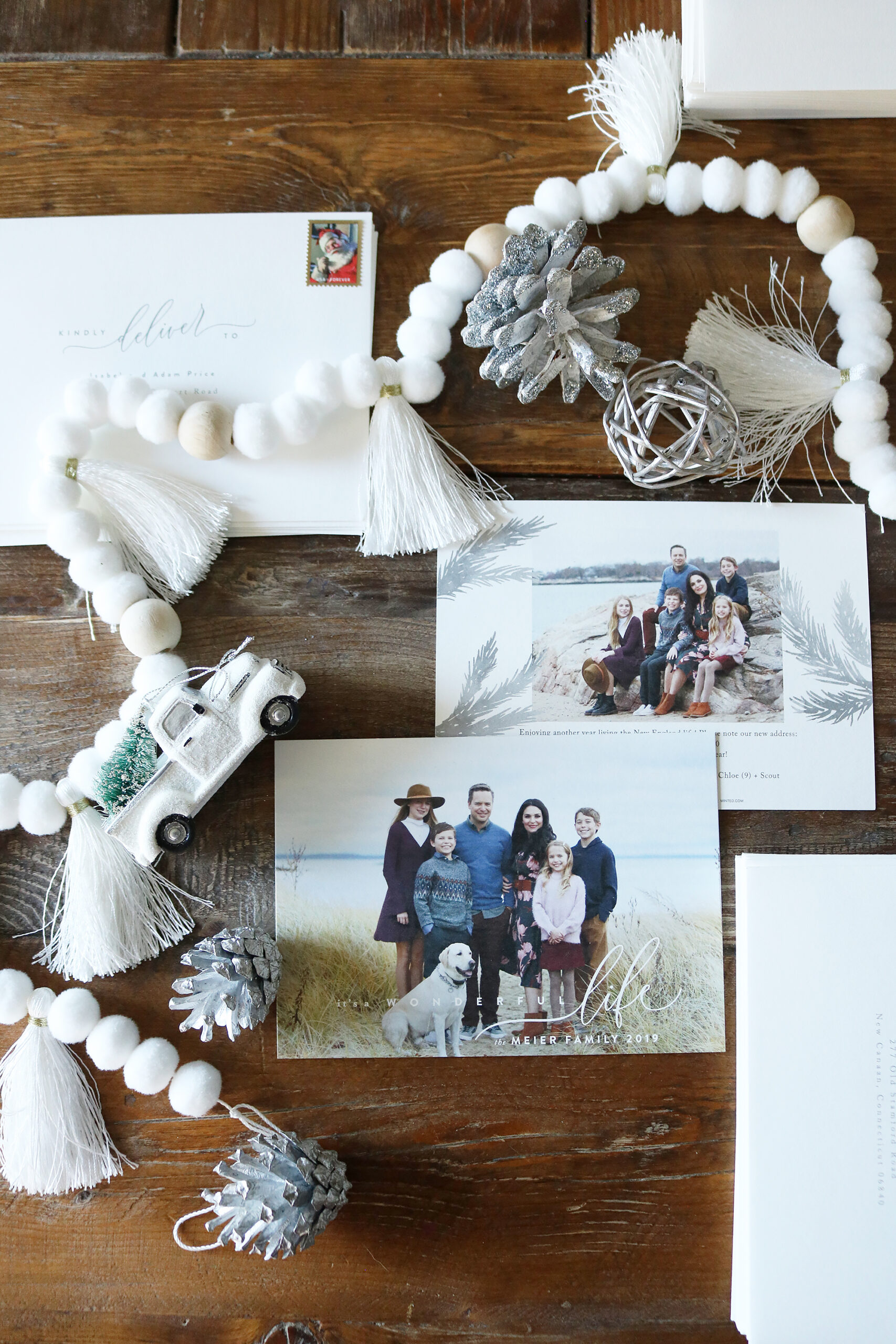 Minted Christmas Cards has the best print job, paper thickness and card designs.  We love the discounts available and the quick shipping.  Our Holiday cards come out great every year!  Darling Darleen   Top CT Lifestyle Blogger #darlingdarleen #minted #holidaycards #christmascards