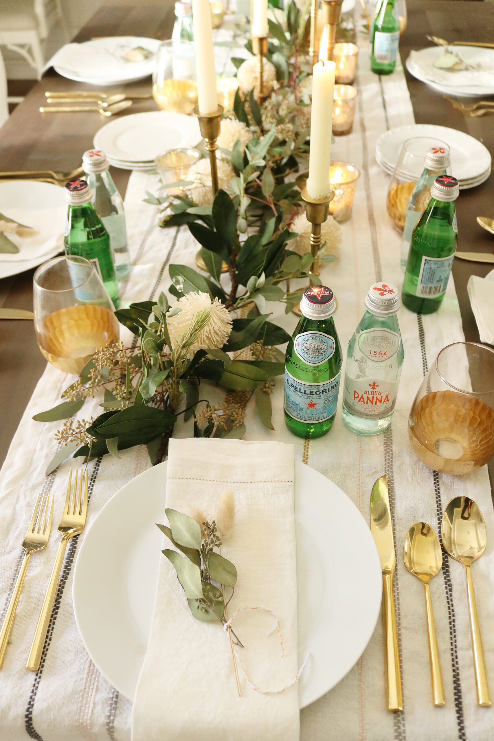 5 Ways to bring the restaurant experience to your home with Acqua Panna and Pellegrino single-serve glass bottles perfect to add the table. cheese board charcuterie board.  || Darling Darleen Top Lifestyle Blogger