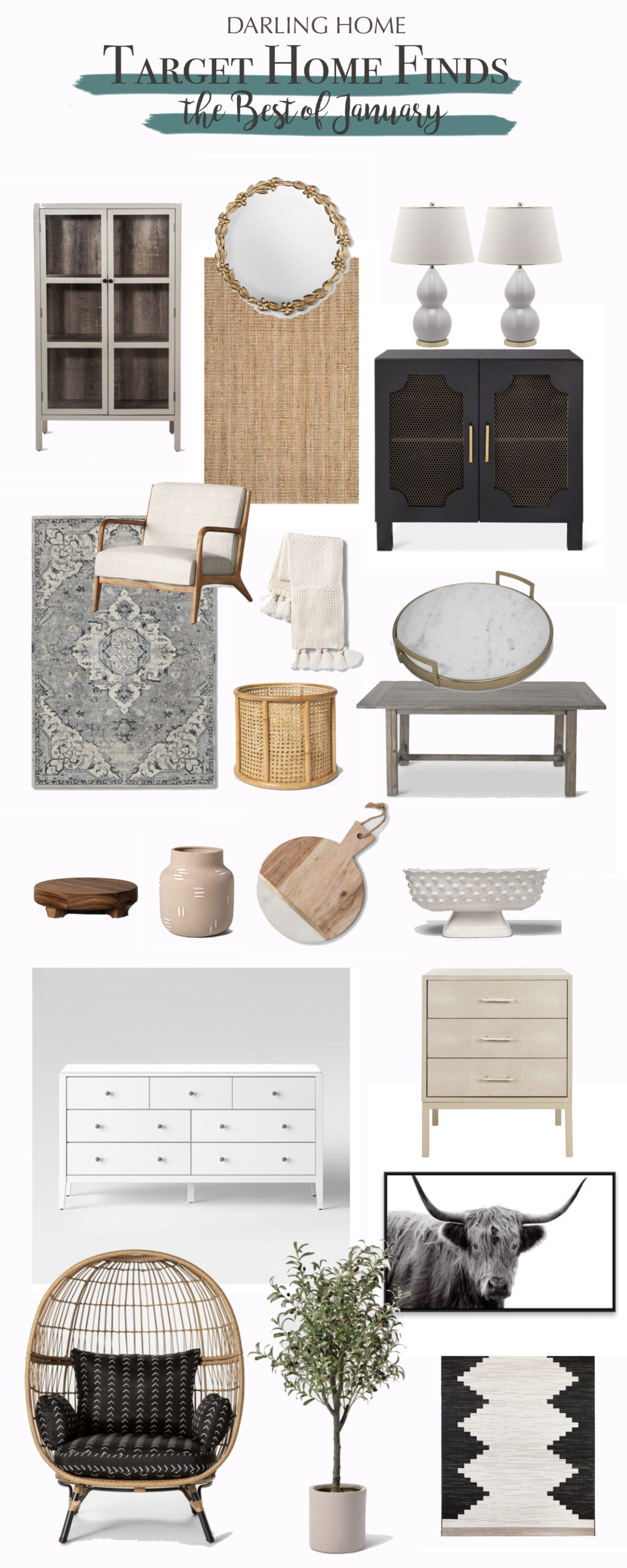 Sharing my favorite Target Home Finds for this month! They are the best of the best!  #targethome #targetstyles || Darling Darleen Top CT Lifestyle Blogger