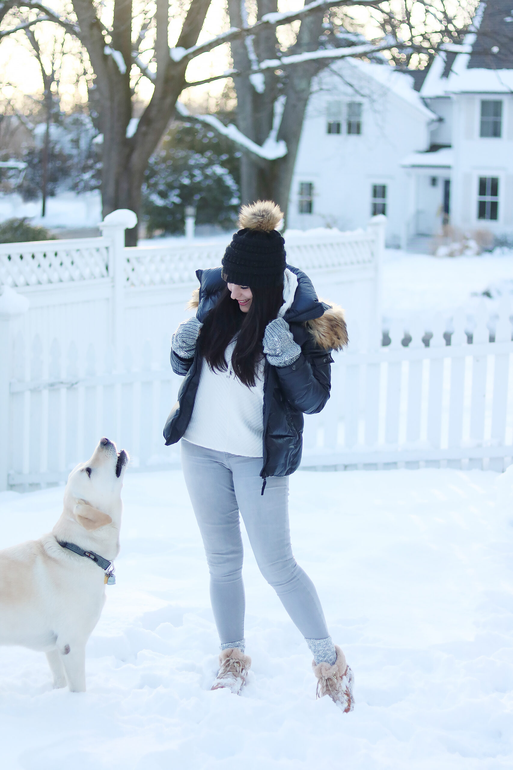 The Best Winter coats and boots sales going on right now to wear right now and stock up for next winter snow season! You don't want to miss! || Darling Darleen Top CT Lifestyle Blogger #wintersales