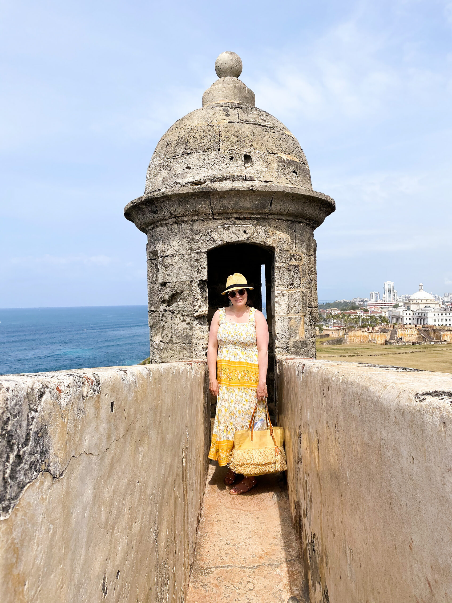 What to Pack to Puerto Rico and a few essential must haves to include in your travel bag for a successful trip to Puerto Rico, what to wear in Puerto Rico, what to wear to Old San Juan, colorful summer dresses, leopard dress|| Darling Darleen  CT Top Lifestyle Blogger