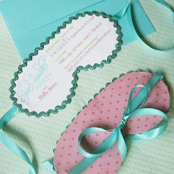Spa Party Invitations
